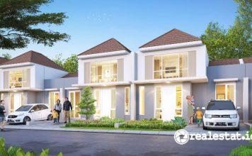 Cluster Canna kedua di Paramount Petals Rumah Tangerang Paramount Land realestat.id dok