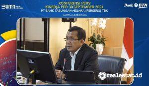 Haru Koesmahargyo, Direktur Utama Bank BTN (realestat.id)