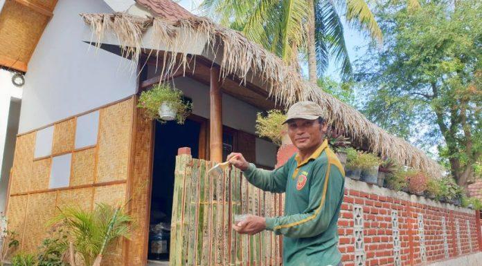 Sarhunta di Mandalika dapat dimanfaatkan sebagai homestay. (Foto: dok. Kementerian PUPR)