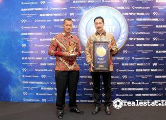 Jakarta Garden City Raih 2 penghargaan Golden Property Awards 2021 Modernland Realty realestat.id dok