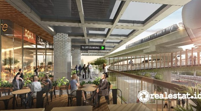 MTH 27 Office Suites Green Office Community Hub TOD LRT City MTH Adhi Commuter Properti realestat.id dok