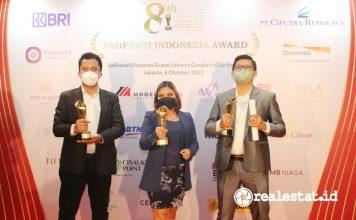 ModernCikande Industrial Estate Raih Penghargaan Properti Indonesia Award (PIA) 2021 realestat.id dok