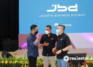 Modernland Realty Perkenalkan Jakarta Business District Jakarta Garden City realestat.id dok