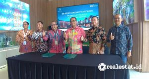 Penandatanganan Perjanjian Kerja sama (PKS) antara The Sanctuary Collection dengan Bank Syariah Indonesia (BSI), Rabu, 6 Oktober 2021.