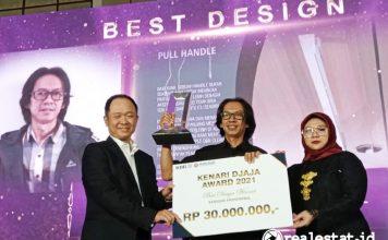 Para Pemenang Desain Handle Pintu Kenari Djaja Award 2021 realestat.id dok