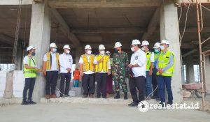 Pembangunan Rusun Korem 133/Nani Wartabone Gorontalo (Foto: Kementerian PUPR)