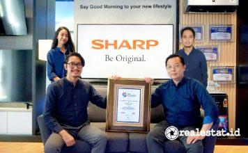 Sharp Raih Predikat Merek Paling Kreatif di Indonesia realestat.id dok