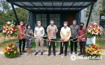 Soft Launching Opening Show Unit Synthesis Huis Cijantung realestat.id dok