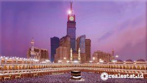 Dua bangunan termahal di dunia terletak di Makkah, Arab Saudi. (Foto: Wikipedia)