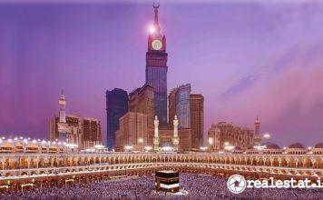 bangunan properti termahal di dunia makkah masjid al-haram Menara Abraj Al-Bait wikipedia realestat.id dok