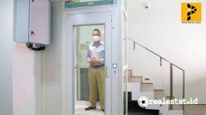 Home Lift ARE Mangusta yang hemat energi listrik.